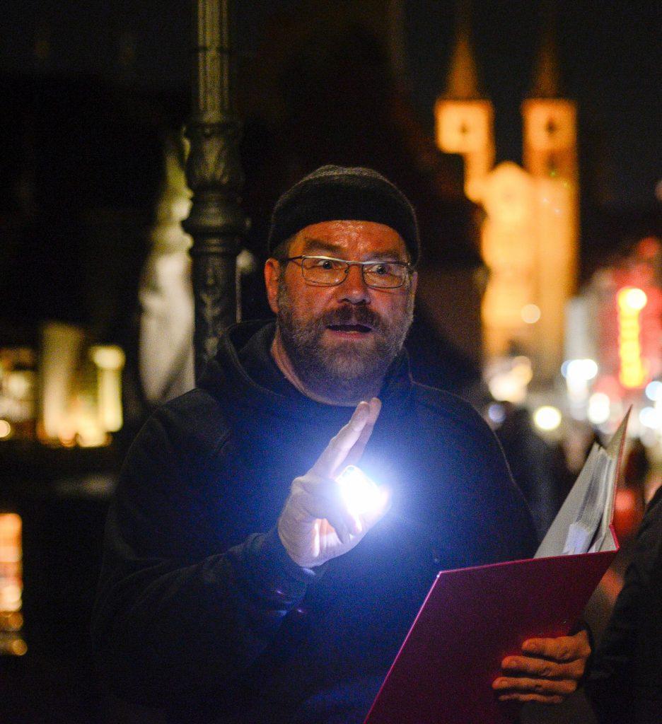 Wolfgang Jung, Journalist und Stadtführer in Würzburg. (Foto: Thomas Obermeier)