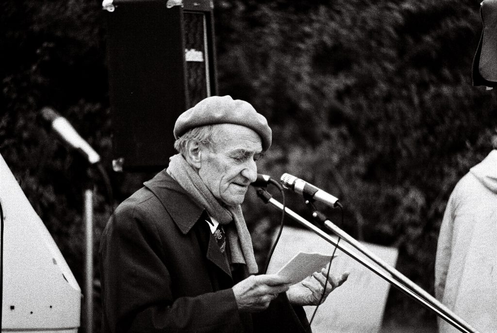 Franz Rauhut, Pazifist