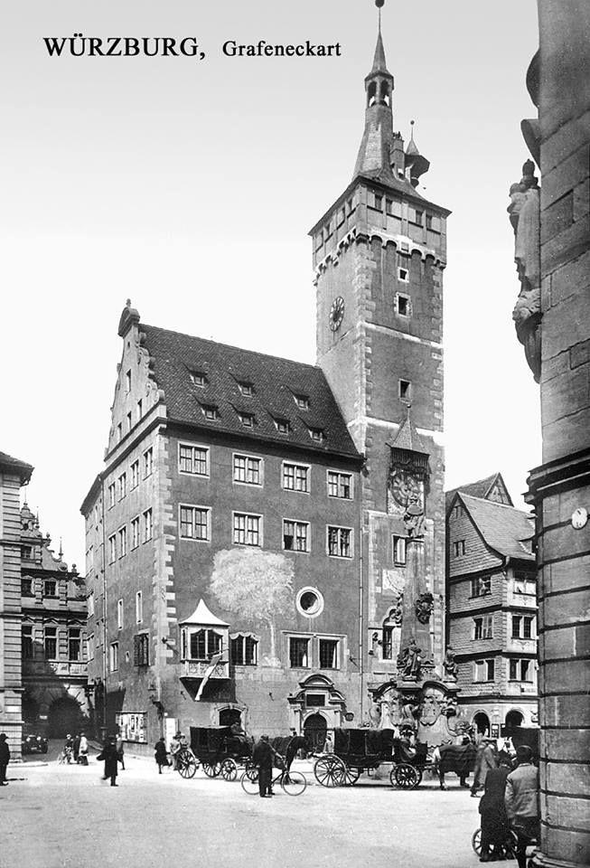 Rathaus mit Grafeneckart, Würzburg
