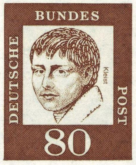 Heinrich von Kleist, Briefmarke von 1961
