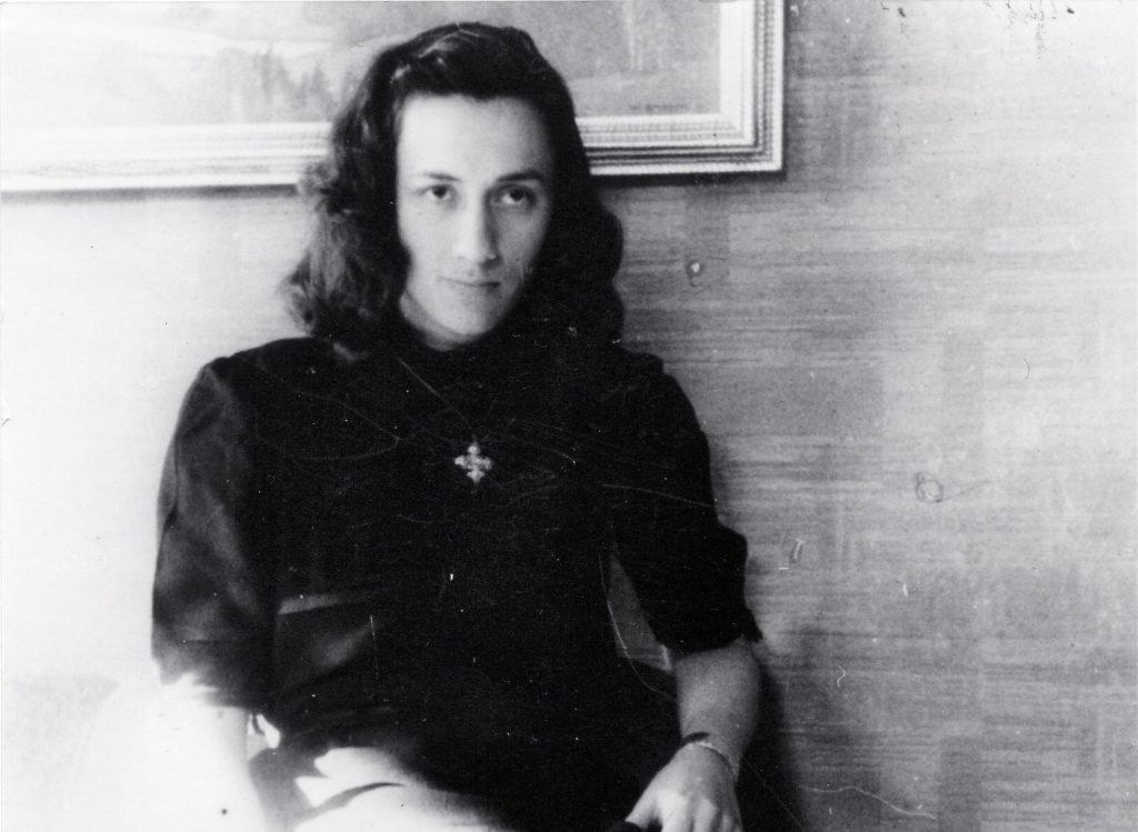 Ortrun Körber im Jahr 1944.