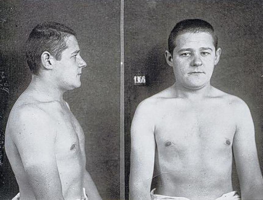 Herbert Lehrmann aus Dresden flüchtete am 18. August 1943 aus der KZ-Haft in Würzburg. Gendarmen erwischten ihn, ein SS-Mann erschoss ihn. (Repro: Sächsisches Staatsarchiv, Staatsarchiv Sachsen)
